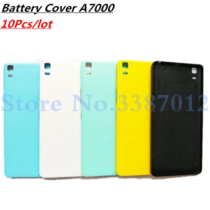 10Pcs/lot New Battery Door Back Cover Housing Case For <font><b>Lenovo</b></font> K3 NOTE K50-T5 <font><b>A7000</b></font> With Power <font><b>Volume</b></font> <font><b>Buttons</b></font> image