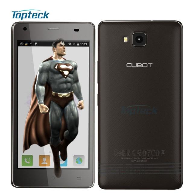 """Оригинал CUBOT Эхо Смартфон Android 6.0 MTK6580 Quad Core 5.0 """"HD IPS Телефон 2 ГБ + 16 ГБ 13MP 3000 мАч OTG 3 Г GPS Мобильного Телефона"""