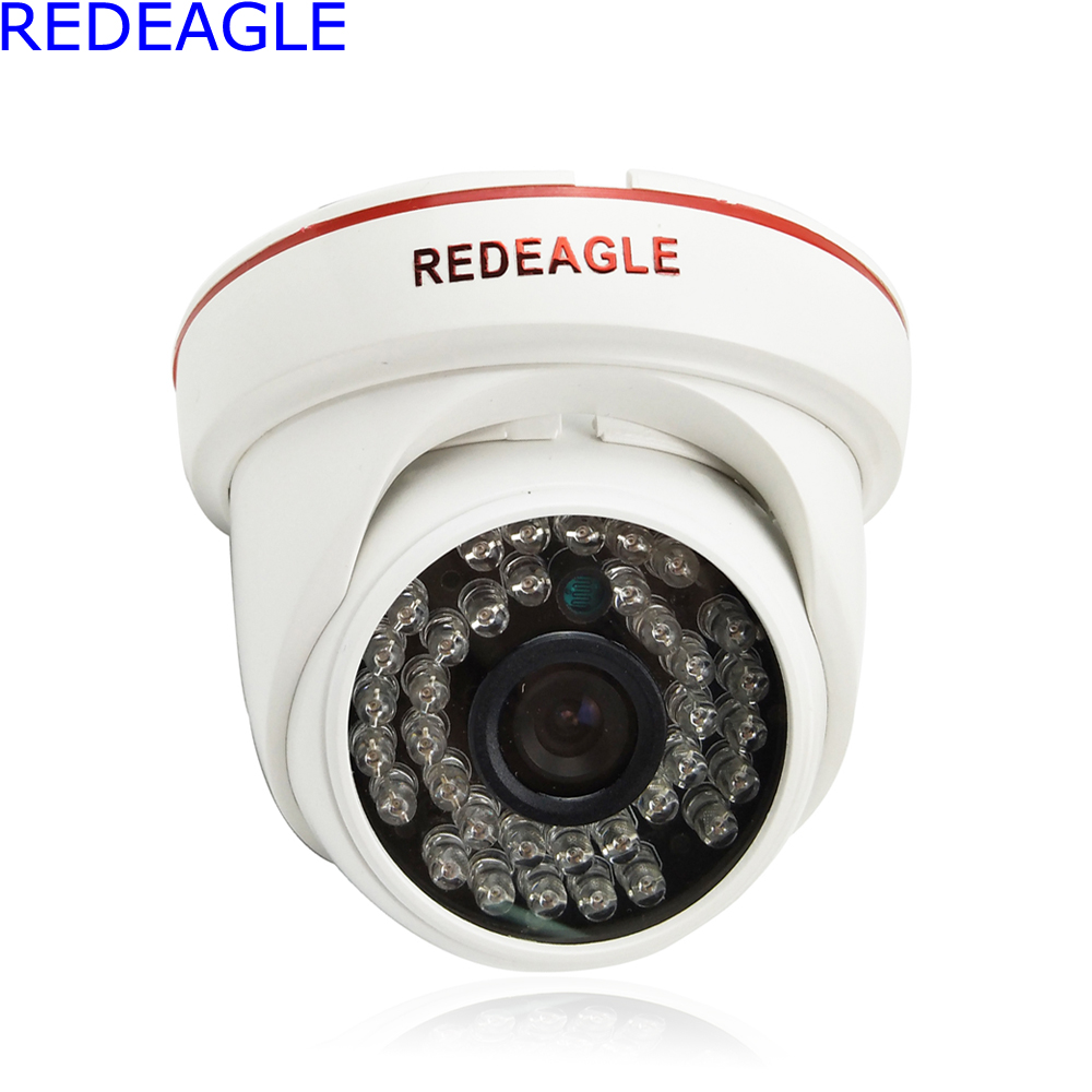 REDEAGLE HD 1.0MP AHD Security Camera 720P Indoor Use 3.6mm Lens IR-Cut Filter Night Vision For CCTV AHD DVR hd ahd security cctv camera 720p indoor dome ir cut 30leds night vision ir color 4mm 3mp cs lens