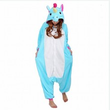 Winter Adult Women Pajamas Hooded Cartoon Animal Cosplay Anime Costumes Unicorn Panda Pikachu Stitch Koala Onesie Jumpsuits
