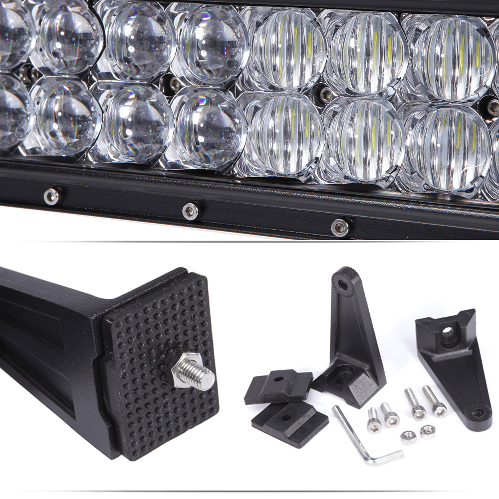 Image 4 - XuanBa 5D 52 Inch 500W LED Light Bar For 4x4 Off Road Trucks SUV ATV 4WD 12V 24V Combo 42 Inch 400W Led Work OffRoad Bar Lights-in Light Bar/Work Light from Automobiles & Motorcycles