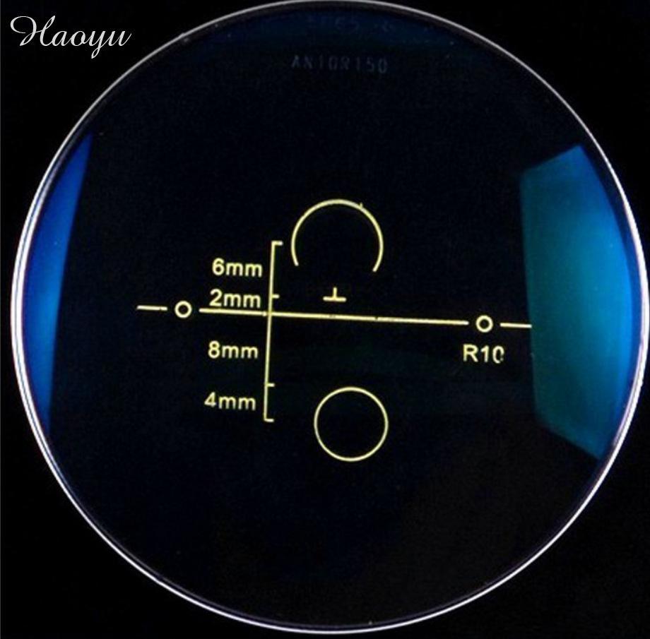 haoyu 1.56 progressive ASP lenses material HMC EMI myopia presbyopia lens to eye optical reading Glasses computer lenses