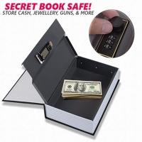 Dictionary Safes Hidden Book Safe Lock Secret Security Money Stash PASSWORD(Size18x11.5x5.5cm)