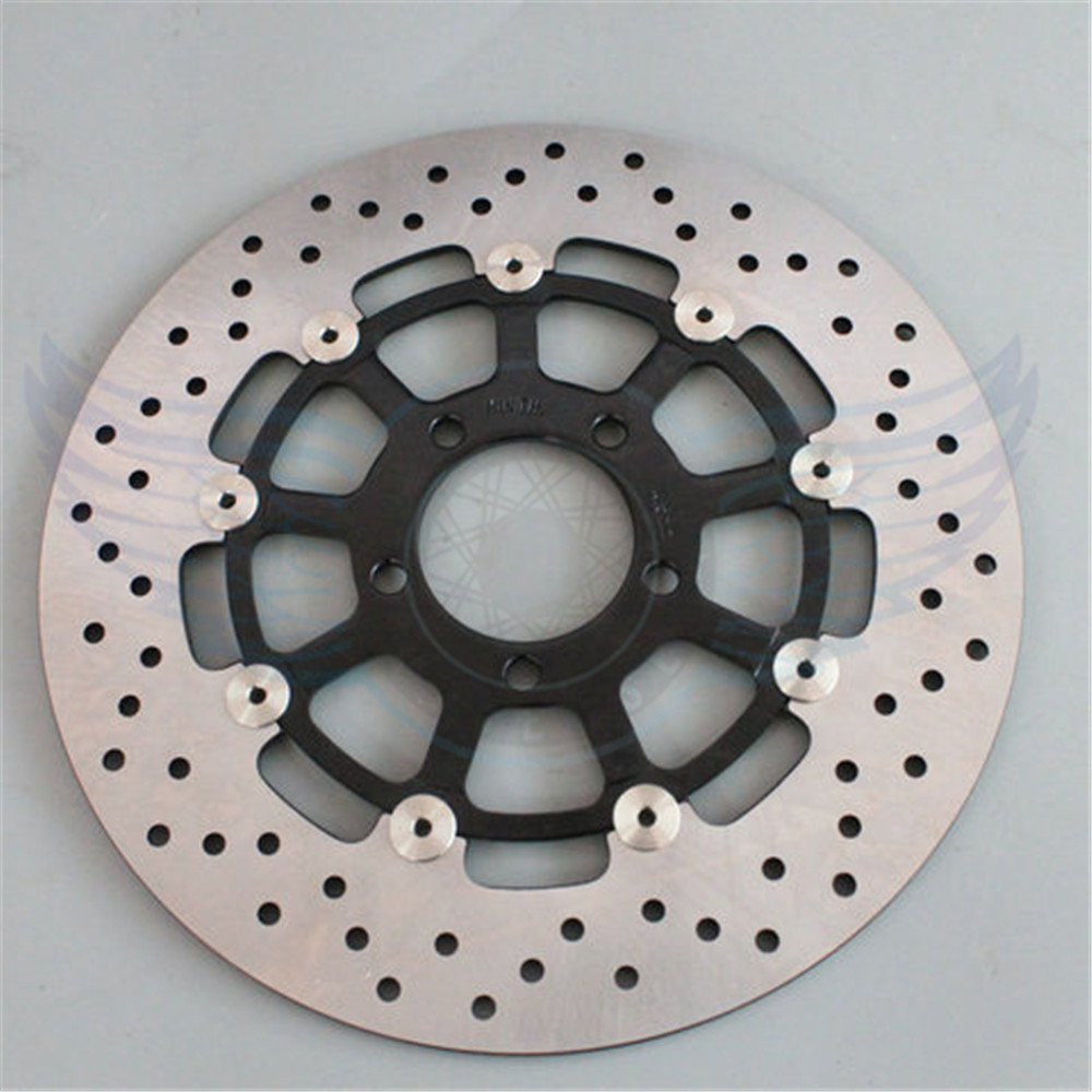 new Motorcycle accessories front Brake Disc Rotor For SUZUKI GSX1300R HAYABUSA 1999 2000 2001 2002 2003 2004 2005 2006 2007 fit for suzuki hayabusa gsx1300r 19971998 1999 2000 2001 2002 2003 2004 2005 2006 2007 abs plastic motorcycle gsx1300r 97 07 c25