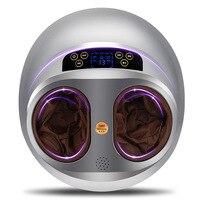Full wrap electric foot massager pedicure machine remote control air pressure heating acupoint feet shiatsu foot massage spa