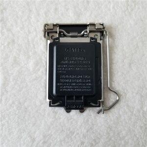 Image 2 - 100 개/몫 원래 LGA115X CPU 소켓 커버 홀더 철 쉘 CPU Scket 보호