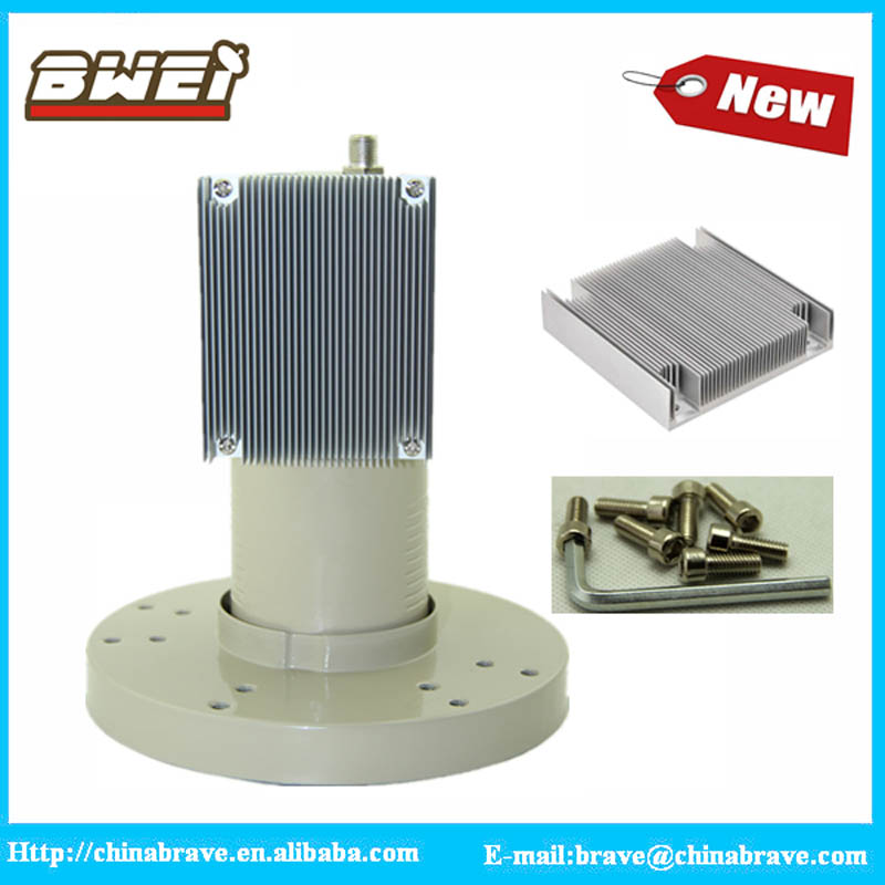 CE&ROHS certificated OEM&ODM supported c band single lnb with heatsink 3.4-4.2ghz c band lnb