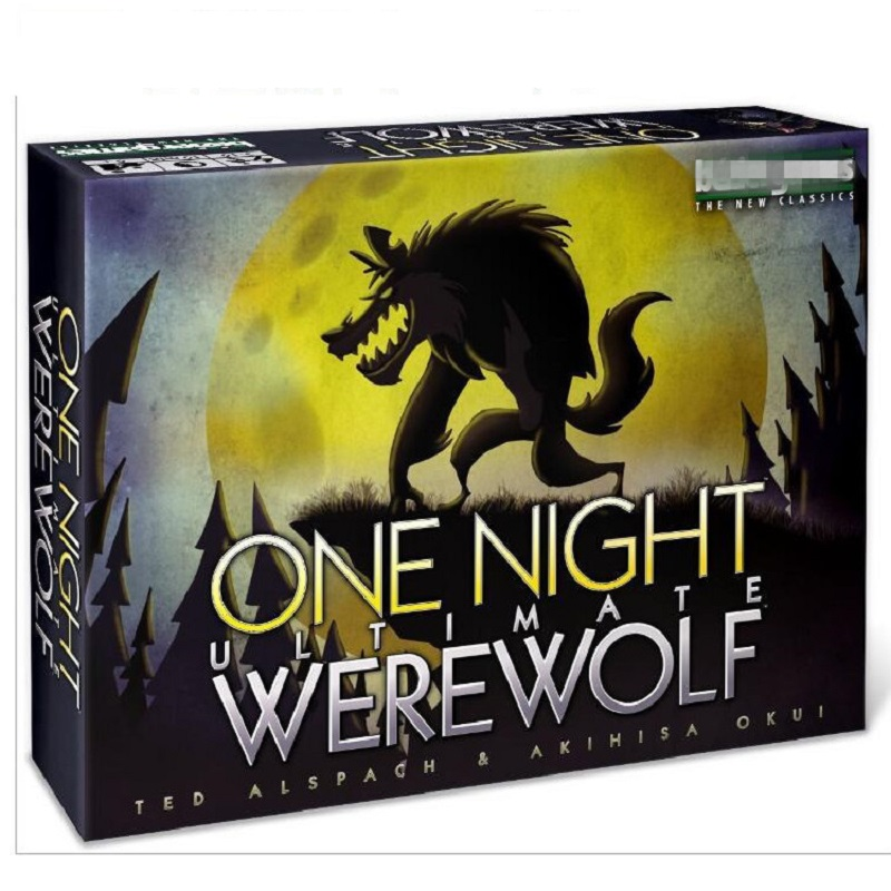 NEW Board Game Cards Toys One Night Ultimate Werewolf Alien Daybreak Card Game For Family Party 2-5 Players Role-playing Games