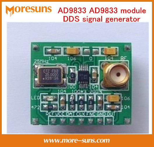 Быстрый Свободный Корабль 5 шт./лот Хорошего AD9833 AD9833 модуль DDS генератор сигналов