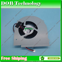 Вентилятор охлаждения для ноутбука Lenovo Y580 Y580M Y580N Y580NT 580A Y580P KSB0805HC, 4-контактный кулер для процессора ноутбука, радиатор