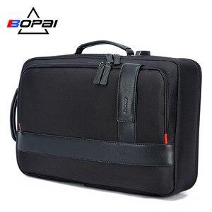 Image 3 - BOPAI Businessกระเป๋าเป้สะพายหลังUSBชาร์จแล็ปท็อปป้องกันการโจรกรรมกระเป๋าเป้สะพายหลัง15.6นิ้วชายขนาดใหญ่ความจุกระเป๋าโรงเรียนวิทยาลัย