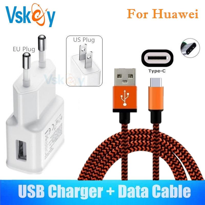 VSKEY 2A Nástěnná nabíječka pro Huawei P20 Lite P10 Mate 10 Pro - Příslušenství a náhradní díly pro mobilní telefony