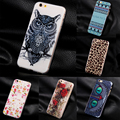 Fashion Lion Tiger Design Retro Case Cover For Apple iPhone 6 Case Silicone TPU 6 Series Back Cover Case For iPhone 6