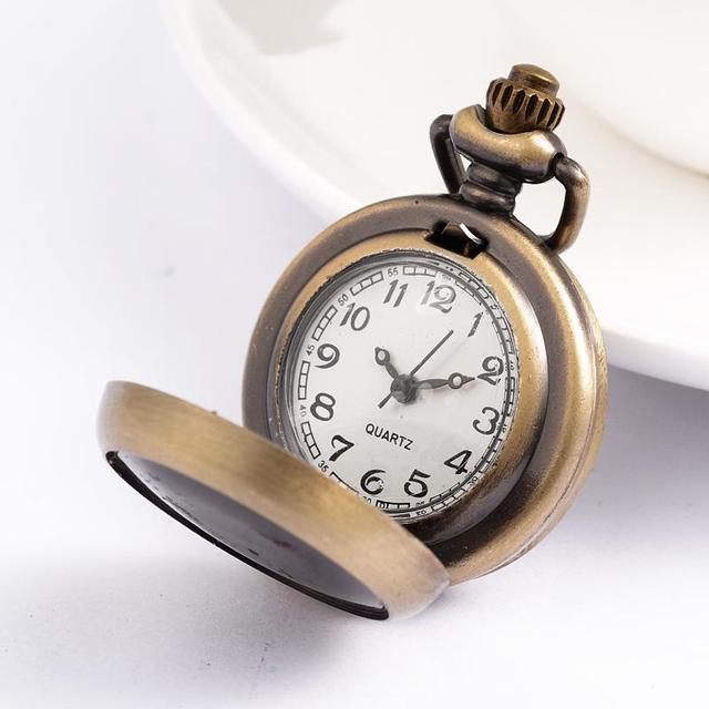 10 шт. Античная бронзовая плоские круглые сплав часы головы, 40x29.5x12 мм, отверстие: 8x2 мм, подходит для 23 мм в диаметре фото