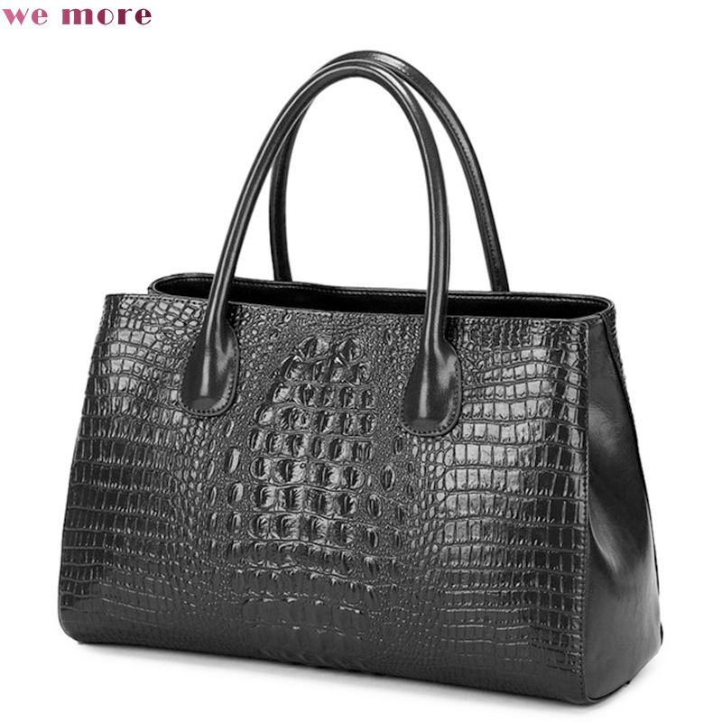 We more Women Bag Geniune Leather Tote Brand Bag Ladies Handbag Lady Evening Bags Solid Female Messenger Bags aelicy new women bag pu leather tote brand bag ladies handbag lady evening bags female messenger bags for girls bolsa feminina