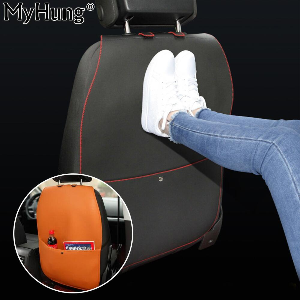 new leather car seat protective anti kick mat covers for child kick mat mud clean for car seats. Black Bedroom Furniture Sets. Home Design Ideas