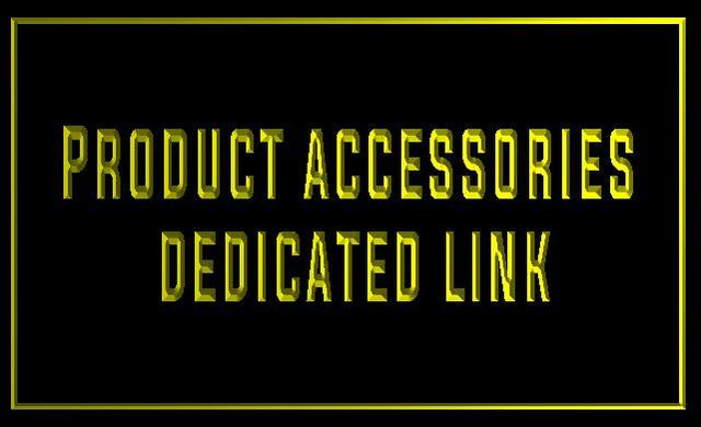 Accessori del prodotto di collegamento dedicato