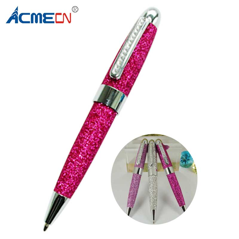 ACMECN Mini MB Style Ballpoint Pen with Crystal PU leather Glitter Pens Lady Birthday Gift Jewellery Crystal Bling Writing PenACMECN Mini MB Style Ballpoint Pen with Crystal PU leather Glitter Pens Lady Birthday Gift Jewellery Crystal Bling Writing Pen