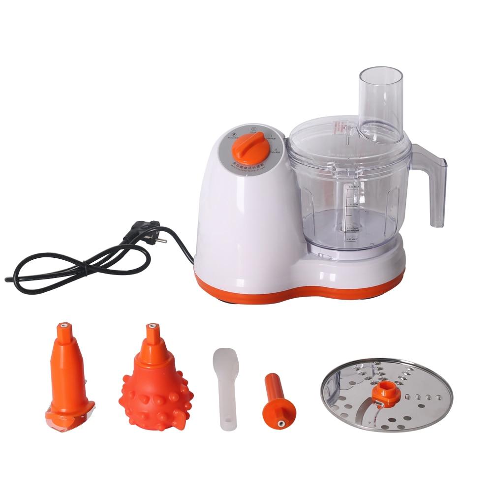 ITOP Multifunction 2L Food Processors Vegetable Fruit Shredding, Peeling , Meat Grinding, Slicing Mixing Cutter Machine 220V
