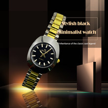 NEW!!! 2019 Brand New Stainless Steel Chain Fashion Gold Watch Women Wristwatches Quartz Watches(China)