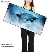 Купить с кэшбэком Mairuige Game of thrones Game Pad to Mouse Notebook Computer big size Mouse Mat Gaming Mouse Pads  30x60/70/80/90cm big size