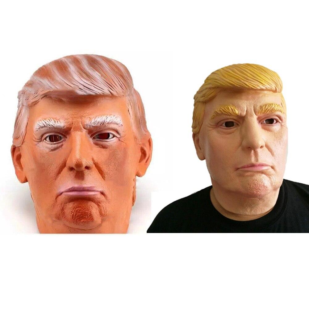 1 STÜCK Donald Trump Maske Billionaire Presidential Kostüm Latex Cospaly Maske Für Halloween Party Dekorationen Ornament