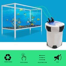 3000L/h SUNSUN HW-3000 ЖК-дисплей Дисплей 4-этап Аквариум Внешний канистра фильтр с 9 Вт УФ-стерилизатор для аквариума до 300-750L