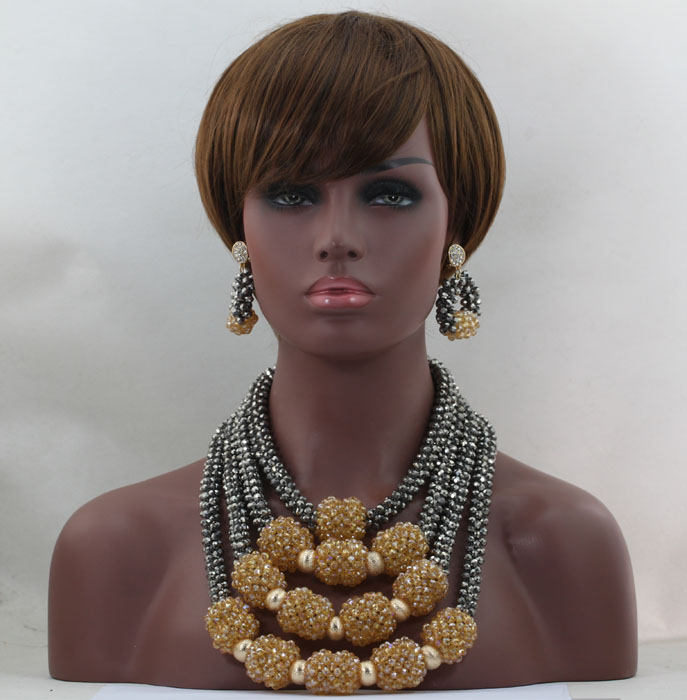 Amazing Nigerian Beads For Women Pretty Jewelry African Set Rare Style Handmade New Arrival Wholesale Free Shipping hx256 new 4 huntkey 4u industrial computer case huntkey s452 4u computer case hard drive computer case thick computer case