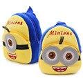 Милый мультфильм Г-Н миньоны мальчиков schllo сумка рюкзак для маленьких детей 1 2 3 лет рюкзак adroable мини dailypack