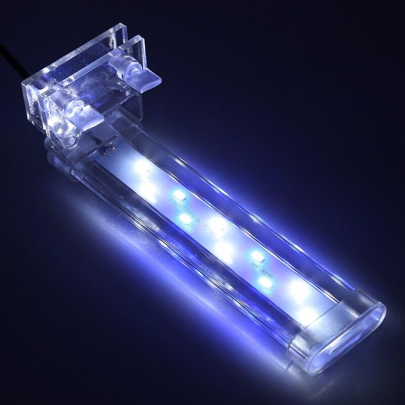 Aquarium Fish LED Clip Lamp Light 8/12/16/26CM Bar