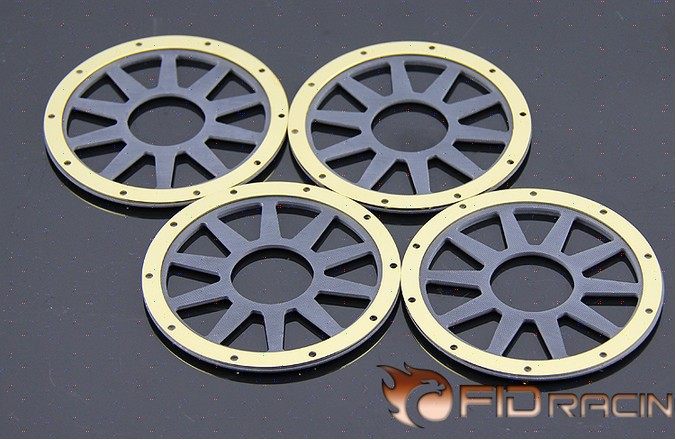 FID Gold Edition version hub assembly and fiber outer pressure ring FOR LOSI 5IVE-T 1 set fid rear axle c block for losi 5ive t mini wrc