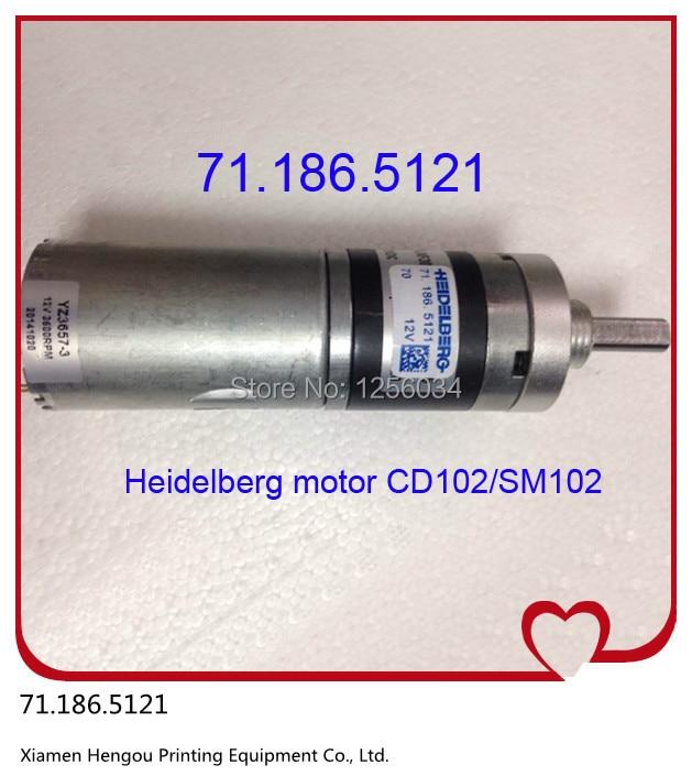 1 piece Heidelberg SM102 CD102 motor 71.186.5121