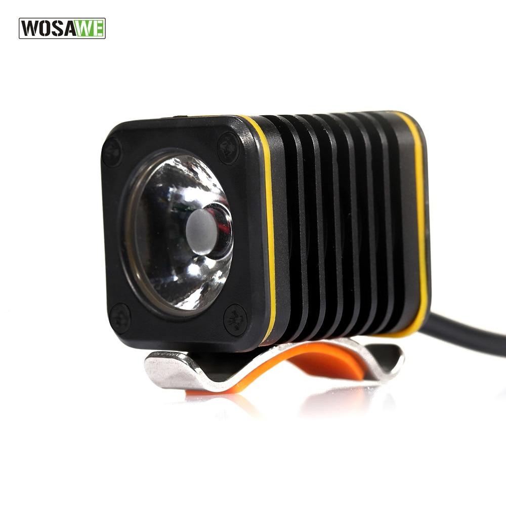 WOSAWE USB Charging Bicycle Light LED Cycling Bike Bicycle Light Head front Lights Flashlight Warning Light 450 Lumen