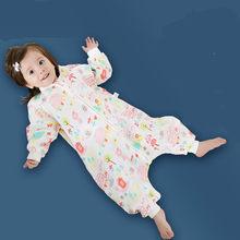 97498a5c7e3d Printemps Automne Mince Bébé sac de couchage Infantile Sleepingsacks Coton enfants  anti-coups de pied