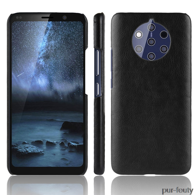 For Nokia 9 Pureview solid phone Cases Luxury Hard solid Leather Back Cover For Nokia 9 Pureview 9Pureview TA-1094 armor shell