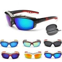 Outdoor Sport Polarized Sunglasses Brand Windproof Ski Dustproof Glasses Men Motocross Riot Control Downhill Eye Glasses