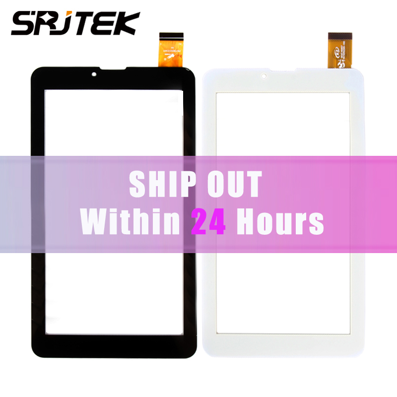 Srjtek 7'' FM707101KE Capacitive Touch Screen Panel Digitizer Glass Repair Replacement Parts replacement lcd digitizer capacitive touch screen for lg vs980 f320 d801 d803 black
