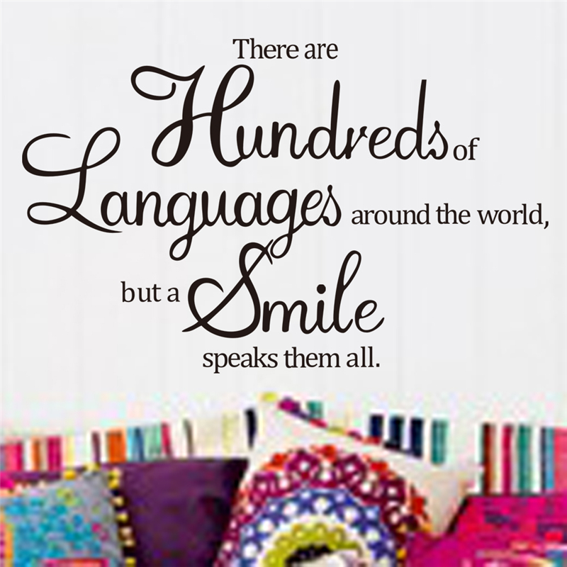 There Are Hundreds Of Languages Around The World But A Smile ...