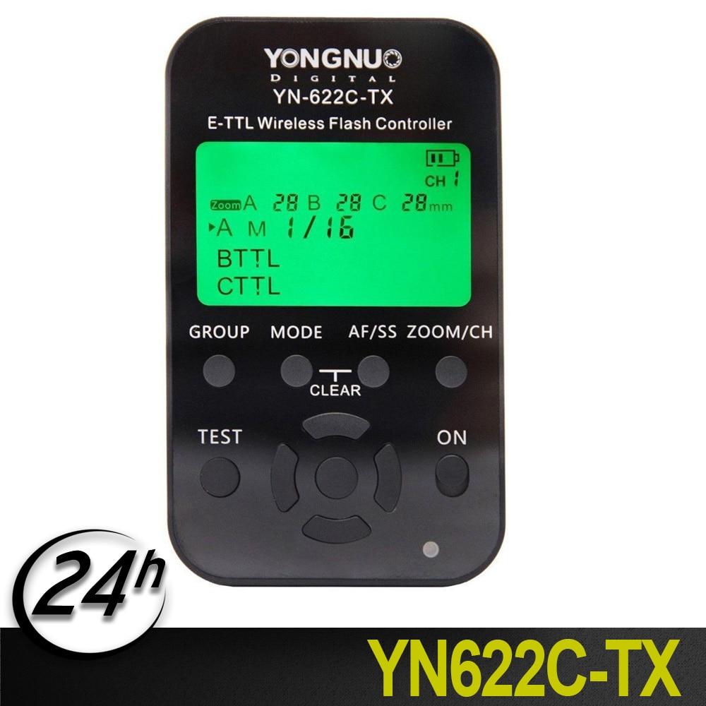 Original Yongnuo YN-622C-TX TTL Wireless Flash Controller with LCD Screen Display 1/8000s