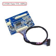 HX B3 LVDS بدوره 60pin TTL ميناء القياسية 20pin 1 ch 8 LVDS المدخلات 60pin TTL الناتج A101VW01