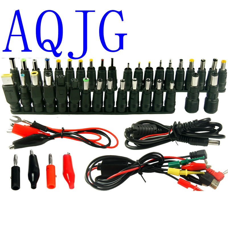 48pcs Universal Laptop AC DC Jack Power Supply Adapter Connector Plug for HP IBM Dell Apple Lenovo Acer Toshiba Notebook Cable free shipping new laptop dc power jack connector cable wire for dell inspiron 15r n5050 n5040 m5040 p n 50 4ip05 101