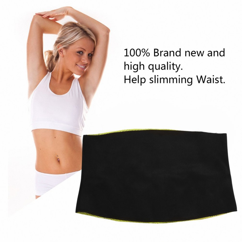 1 PC All Size Women Adult Solid Neoprene Healthy Slimming Weight Loss Waist Belts Body Shaper Slimming Trainer Trimmer Corsets