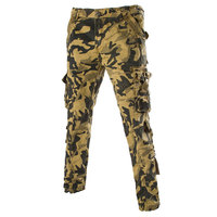 Fashion Pocket Men S Camouflage Cargo Pants Outdoor Casual Trousers Pants Brand New Military Cargo Pants