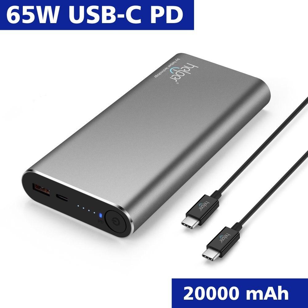 USB-C batterie externe chargeur Portable pour nouveau MacBook Pro Nintendo commutateur iPhone Xiao Mi Pro Dell iPhone USB type-c ordinateurs portables téléphone