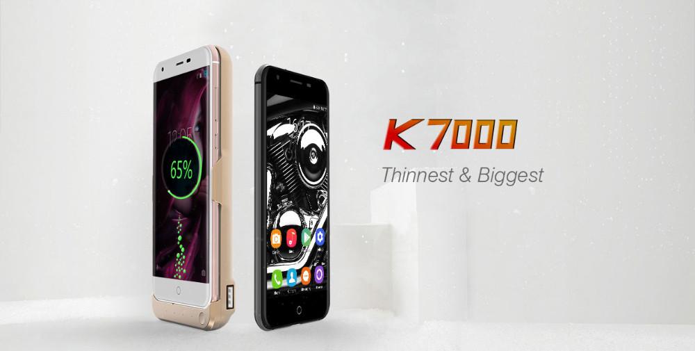 Original Oukitel K7000 5 0inch 1280*720p MTK6737 Quad core Android 6 0  Smartphone 2GB RAM 16GB ROM 4G LTE Dual Sim Mobile phone-in Mobile Phones  from