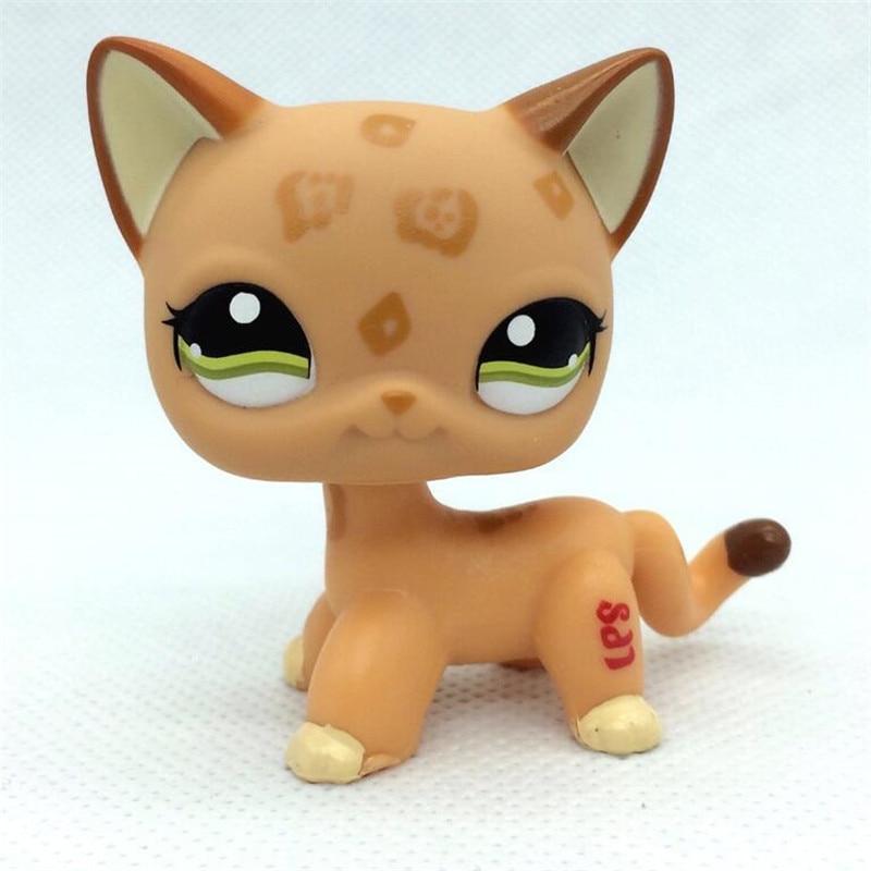 MOANA-LPS Pet Shop Animal Doll Figure Child Toy Gril Boy Short Hair Cat DWA278