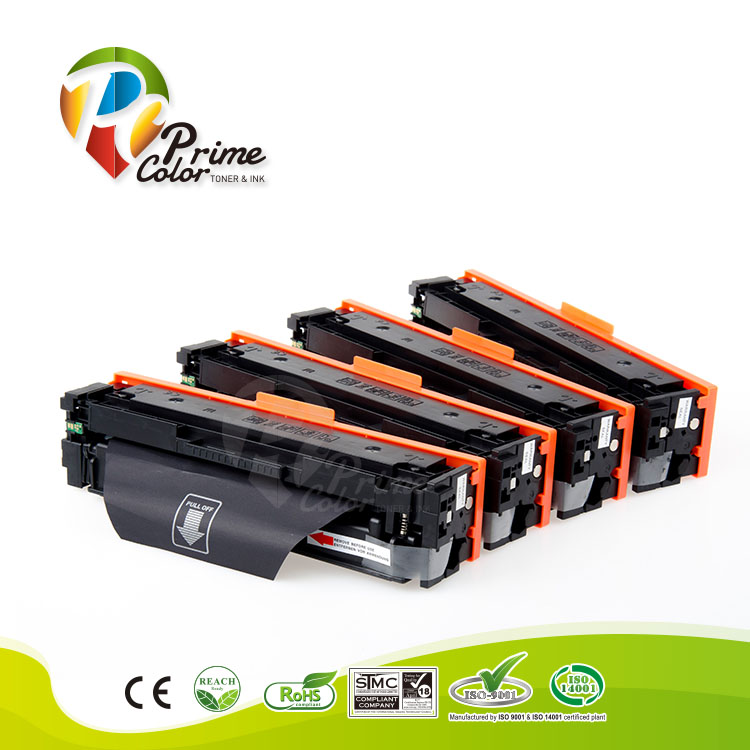 High Capacity Toner cartridge CF540X CF541X CF542X CF543X for HP Color LaserJet Pro M254dw MFP M281fdw toner for oki data c310 n mfp for okidata c511dn mfp for oki data c331 dn mfp black copier cartridge free shipping
