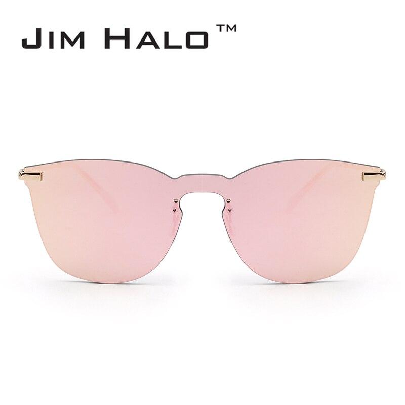 Jim Halo gafas de sol integradas cuadradas sin marco gafas de sol de - Accesorios para la ropa