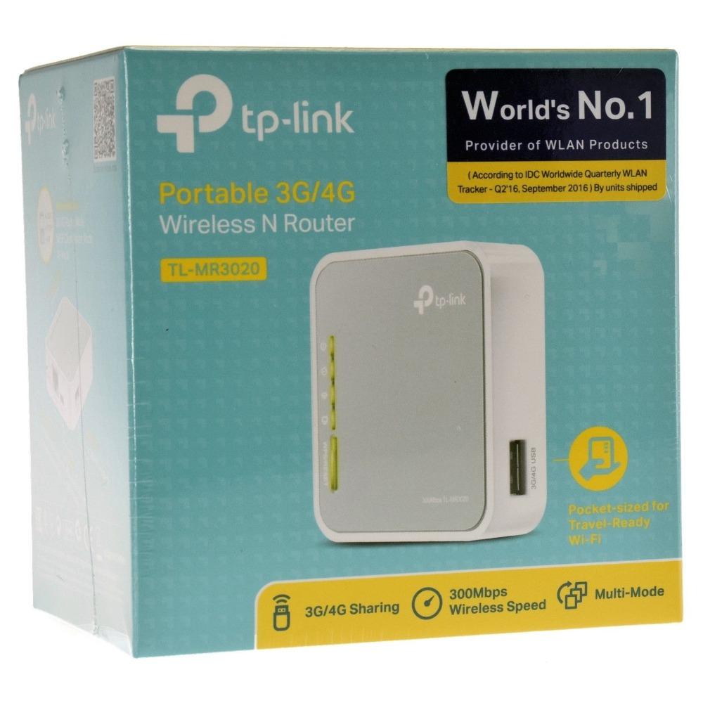 cf9c006449004 TP-LINK-TL-MR3020-V3-Portable-3G-4G-USB-Modem-Wireless-N-WiFi-300Mbps-Router