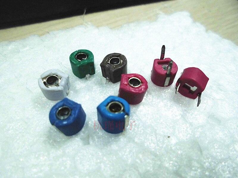 pf 20pcs Variable Ceramic 6mm Trimmer Capacitor 5pF/10pF/20pF/40pF/60pF